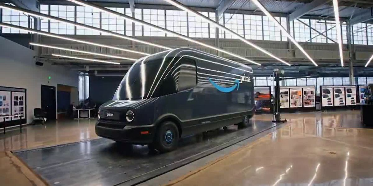 Amazon orders 100K electric delivery vehicles in move to go net-zero carbon