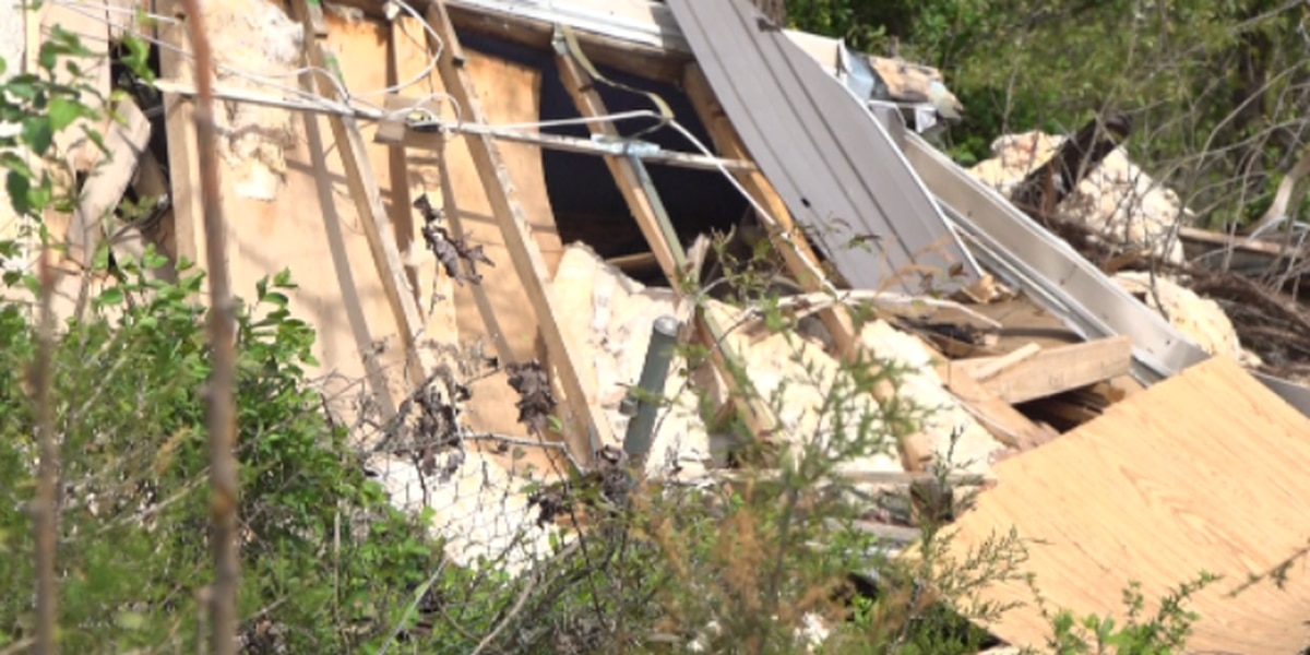 Virginia family visits site of leveled home one year after tornado