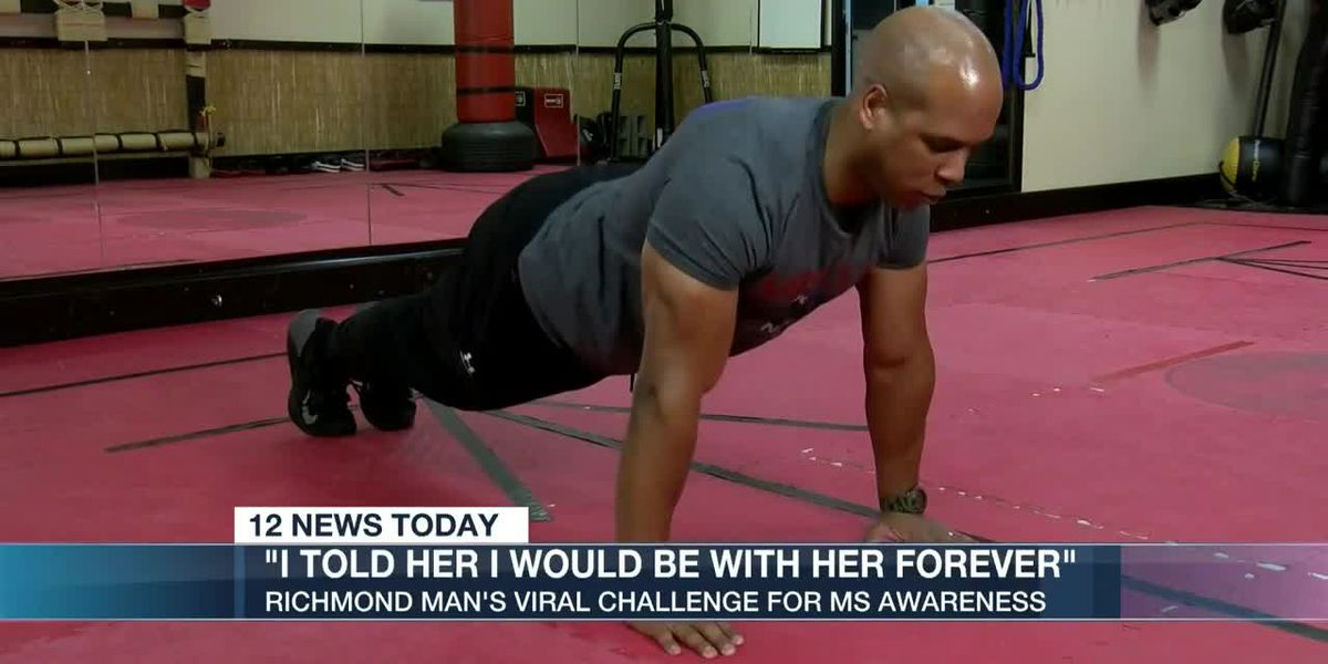 Richmond man starts social media challenge to fight Multiple Sclerosis