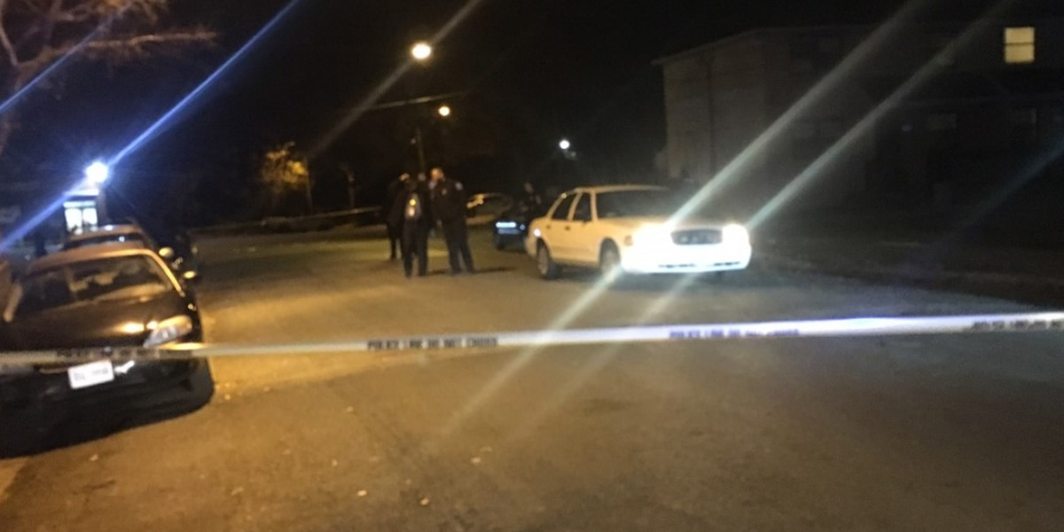 Man injured in Gilpin Court shooting