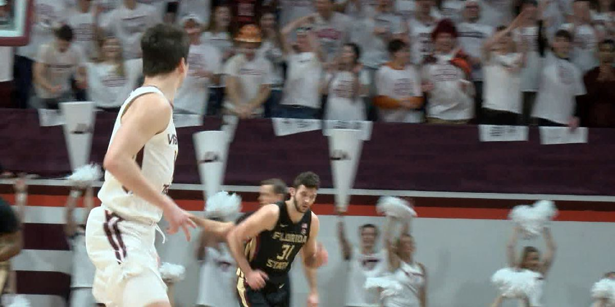 Virginia Tech men's basketball falls to No. 5 FSU