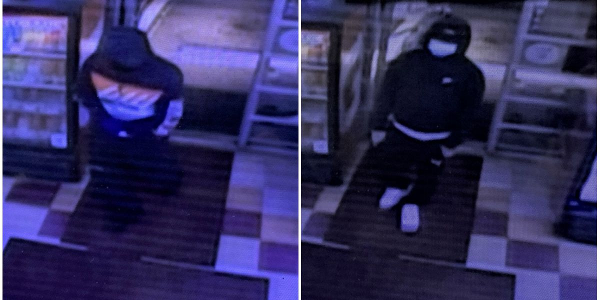 Police search for men accused of robbing Chesterfield convenience store