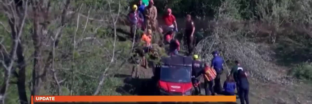 5 rescued from Virginia cave