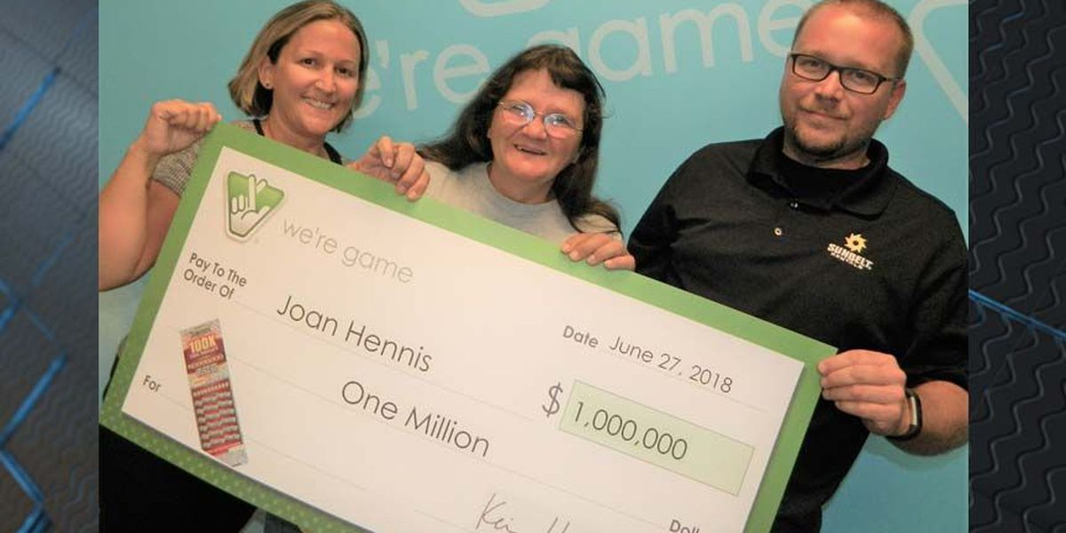 Hanover woman wins $1 million in Virginia Lottery