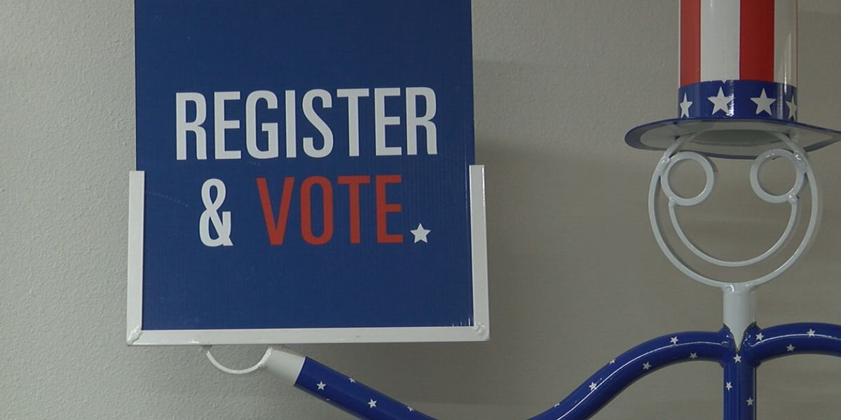 Deadline to register to vote is less than a week away