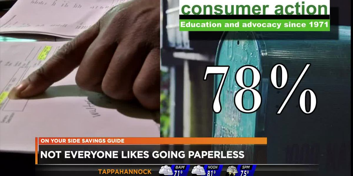 Not everyone likes going paperless