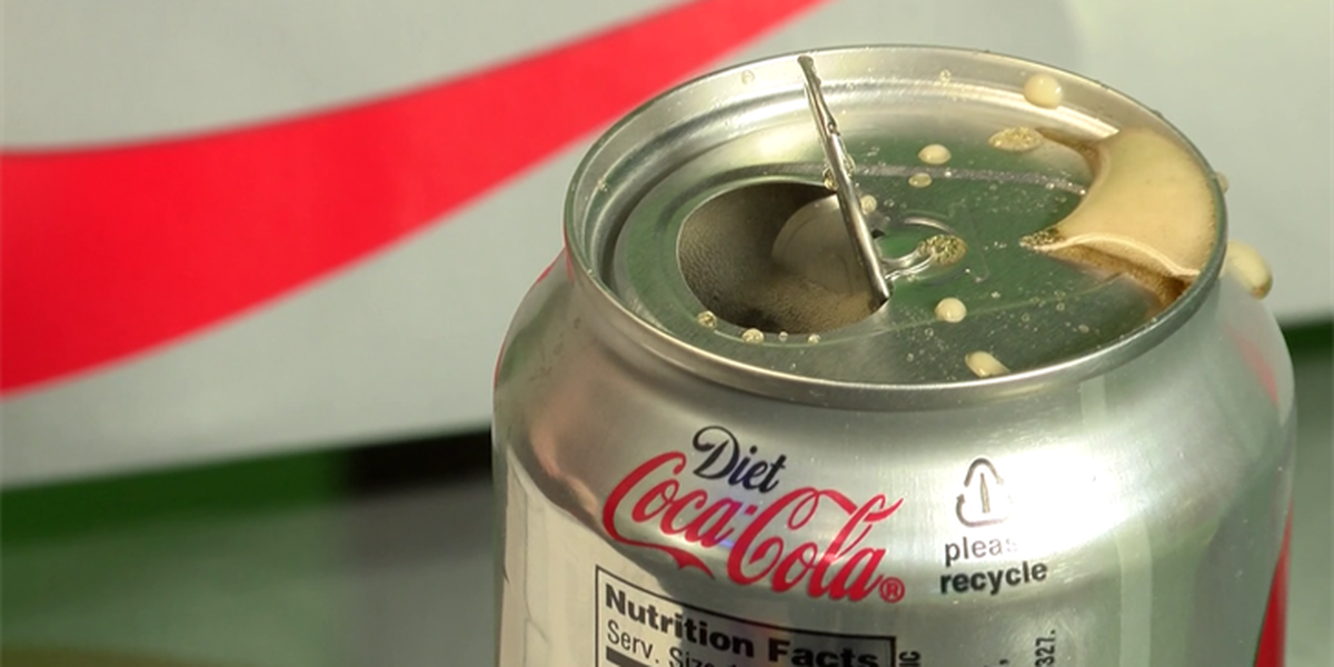 What's lurking on your soda can?
