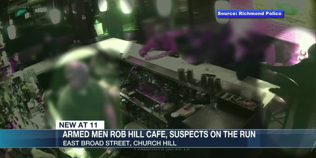 Police looking for suspects in armed robbery of Richmond cafe
