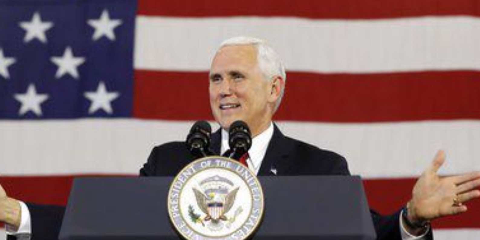 In Virginia, Pence stumps for 3 GOP congressional candidates