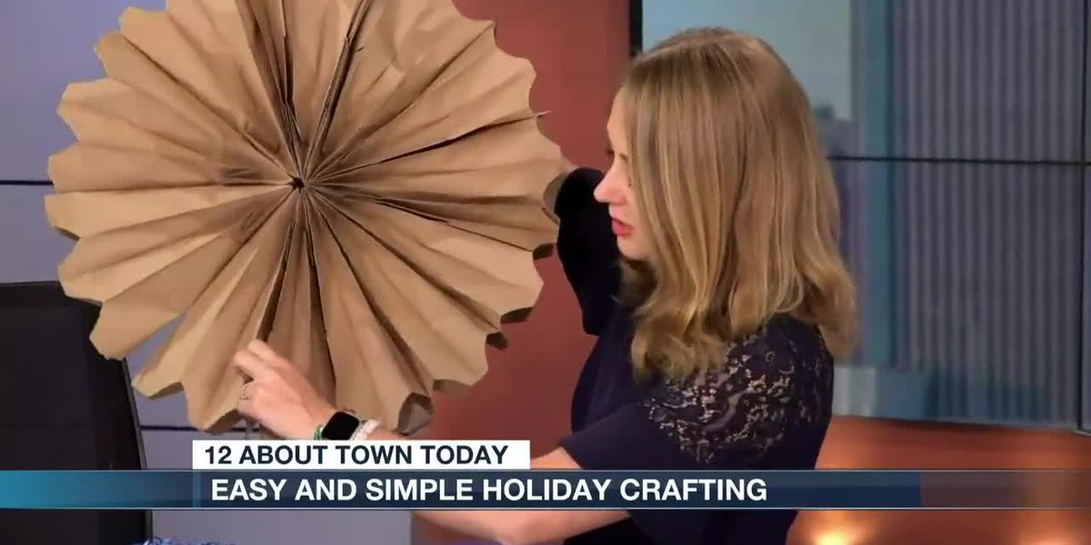 Simple and easy holiday crafting!