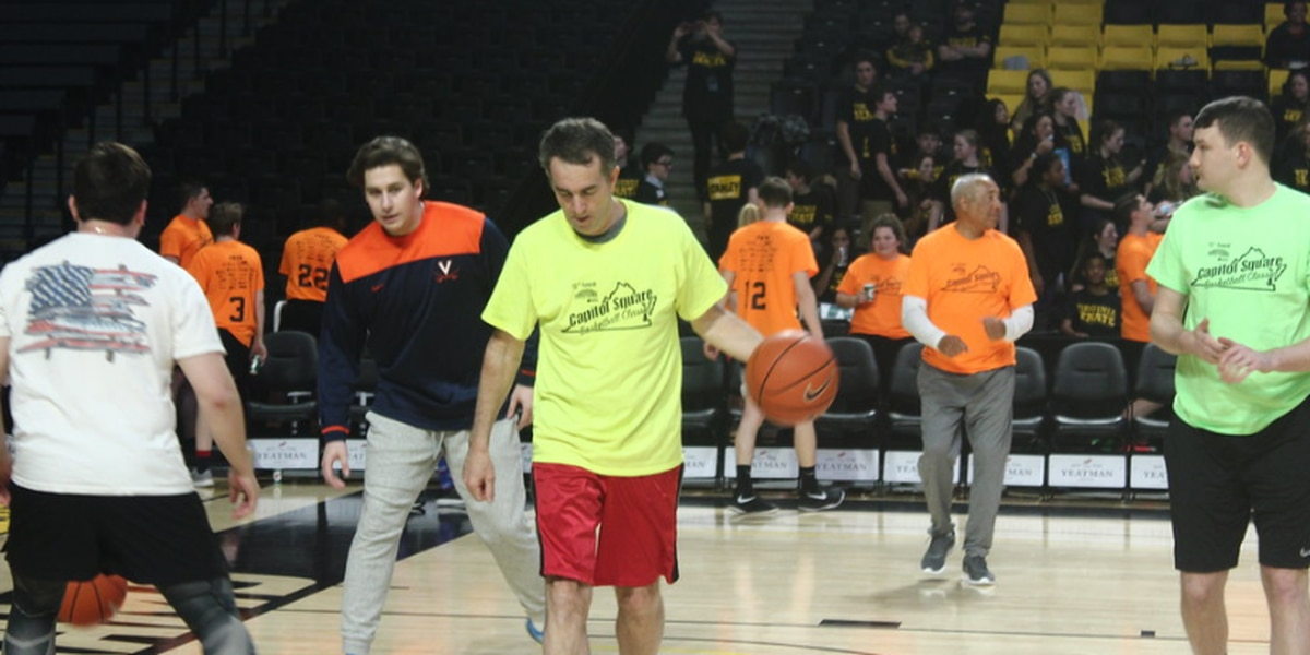 Governor, lawmakers hit the basketball court for cancer research