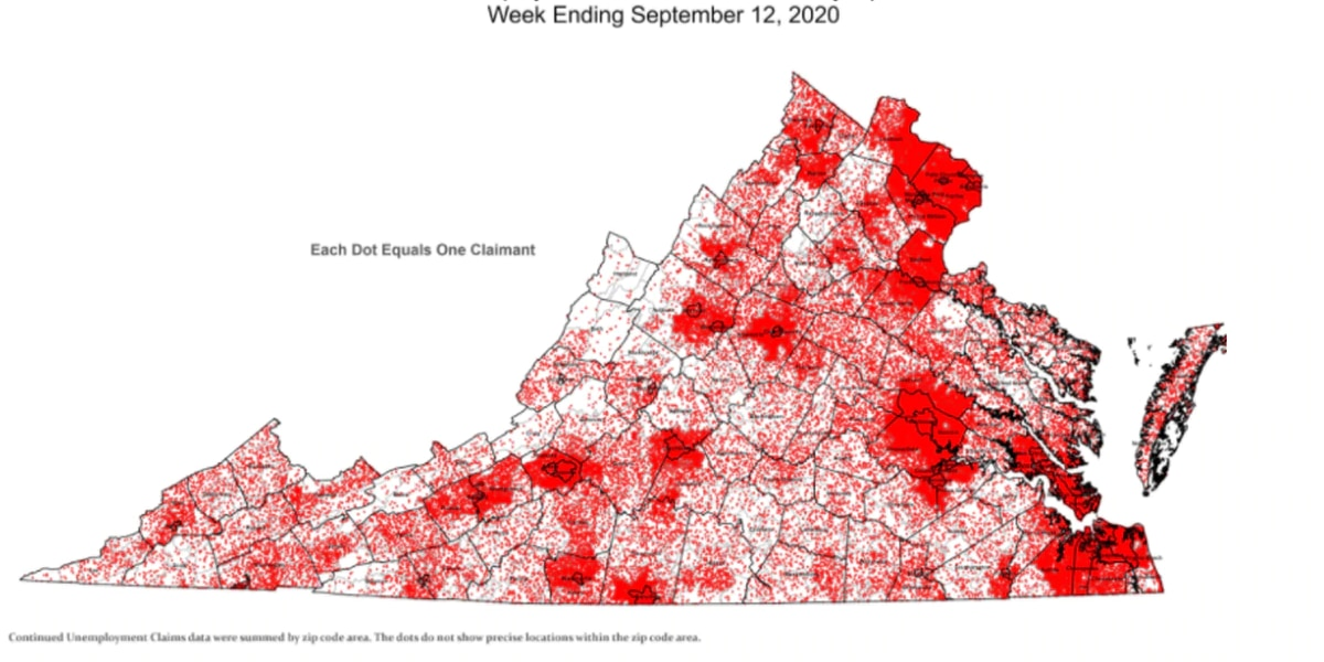 Unemployment in Virginia continue to decline, but questions regarding benefits continue