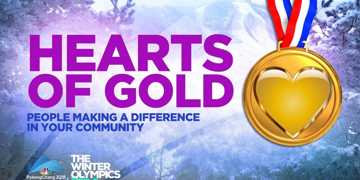 Hearts of Gold: Community champions to be featured during Olympics