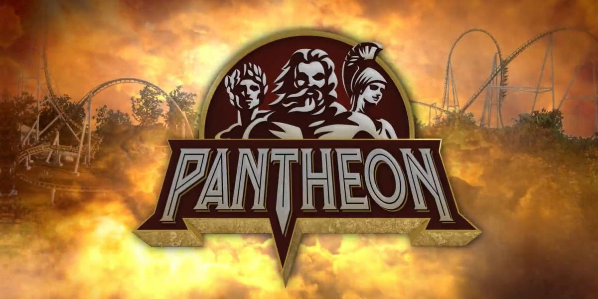 Busch Gardens unveils 'Pantheon,' a new 72 mph roller coaster