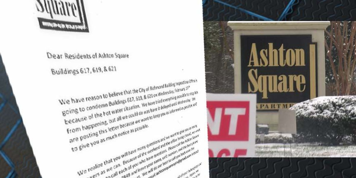 Ashton Square apartment tenants scrambling to find a place to live