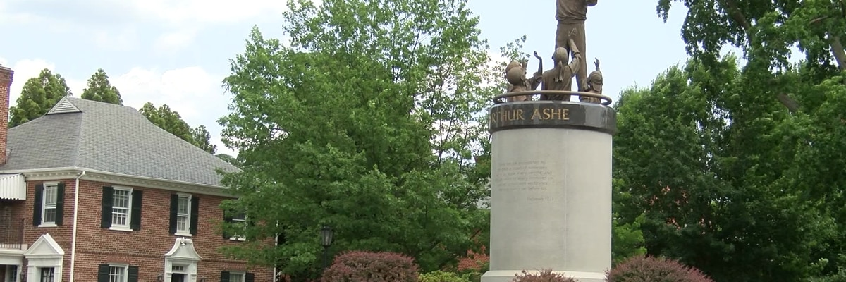 Family requests that Arthur Ashe statue be temporarily moved from Monument Avenue