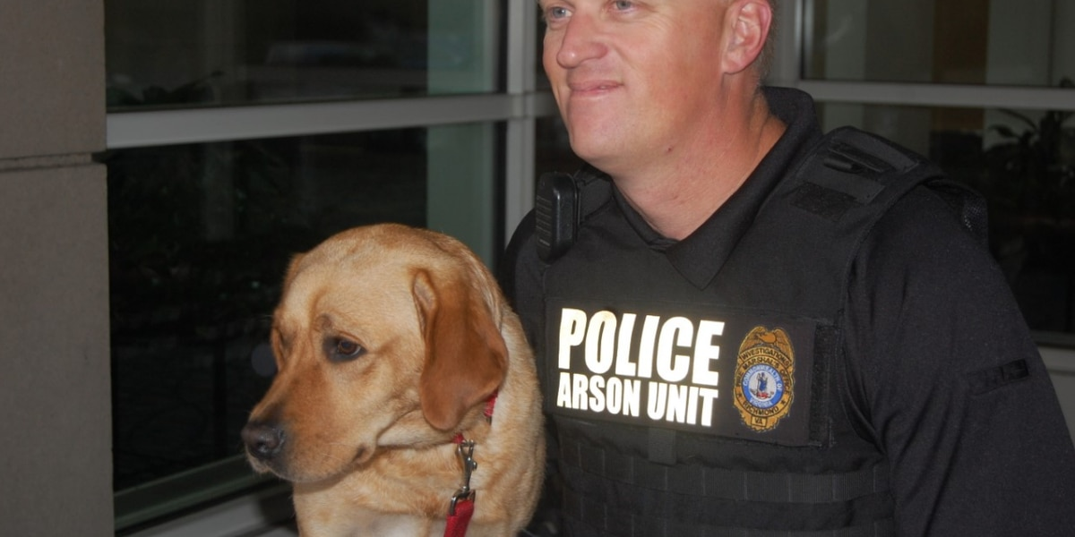 Richmond Fire Department's arson K9 dies