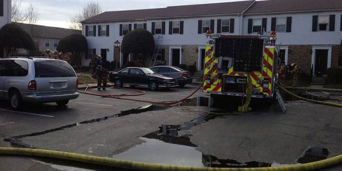 Hanover apartment fire displaces all residents