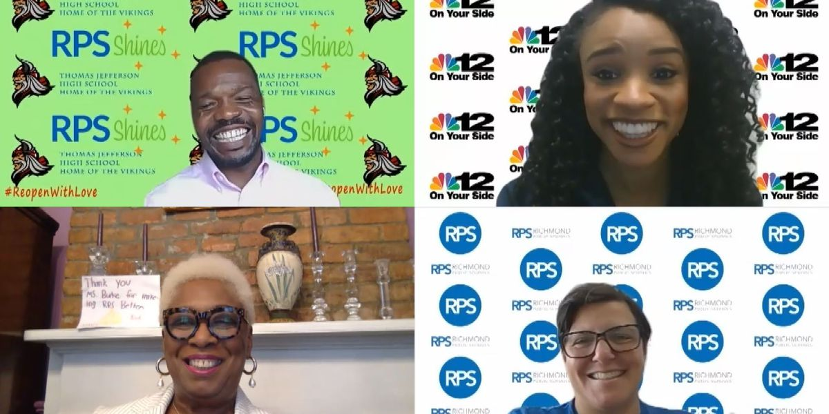 Custom virtual backgrounds promote privacy, equity within RPS