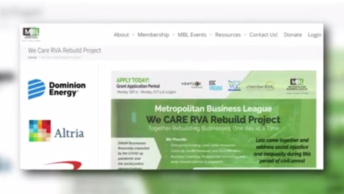 We Care RVA is accepting applications for grants worth thousands of dollars