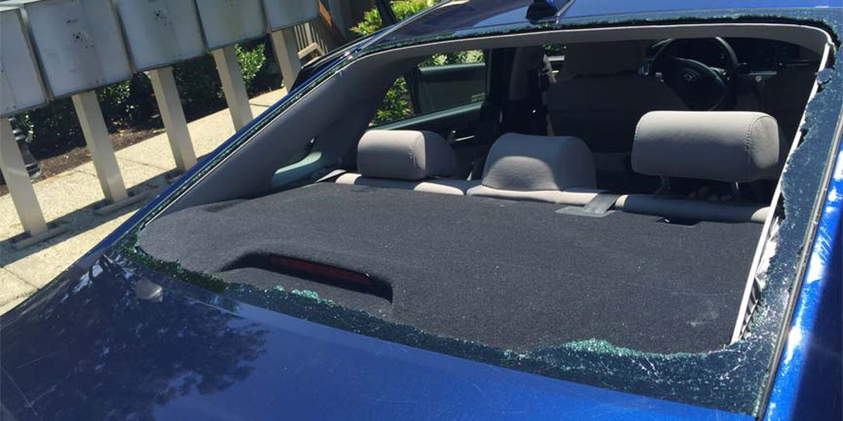 Family says car windows shot out while on I-95 in Chesterfield