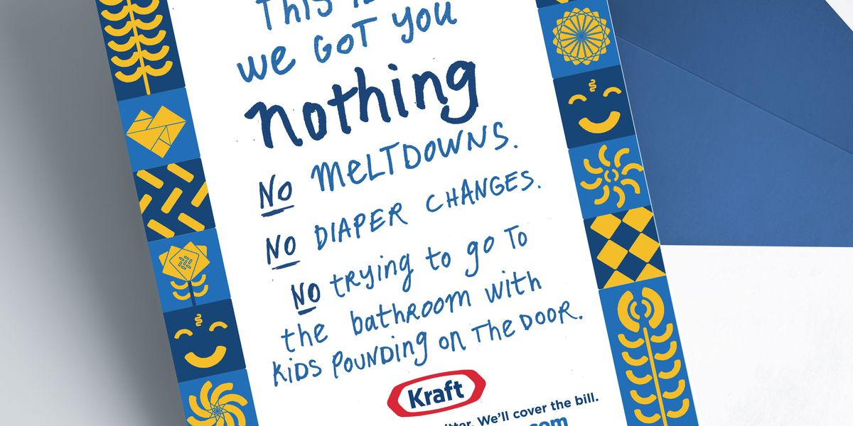 Hey, Mom, want some time alone this Mother's Day? Kraft might pay for your babysitter