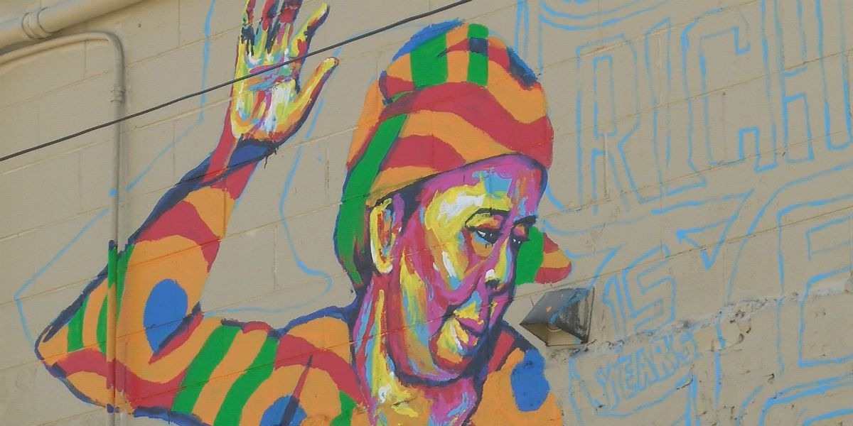 Richmond Folk Festival celebrates 15 years with larger than life mural