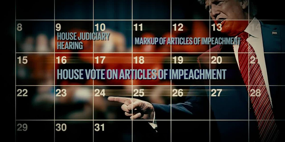 Impeachment articles against Trump moving forward, more questions ahead