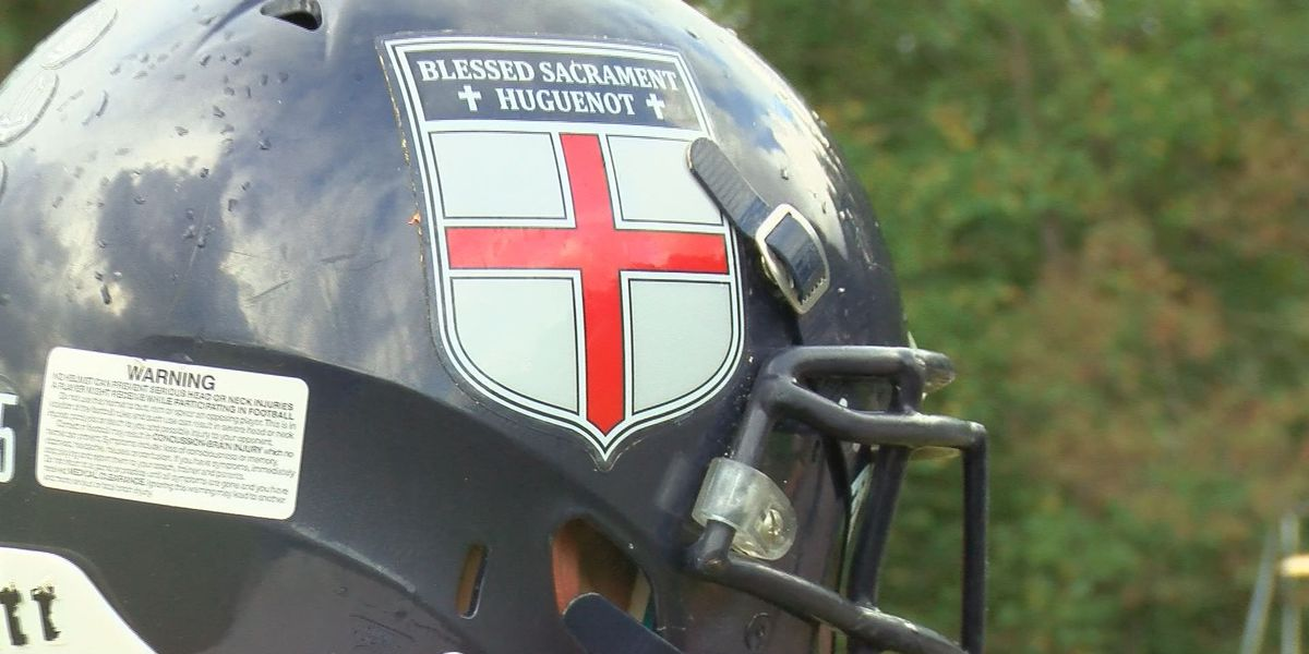 New coach, group of seniors save traditional football at Blessed Sacrament Huguenot