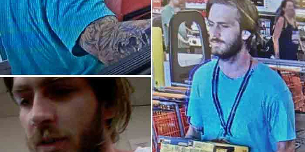 Man wanted after stealing tools, selling them