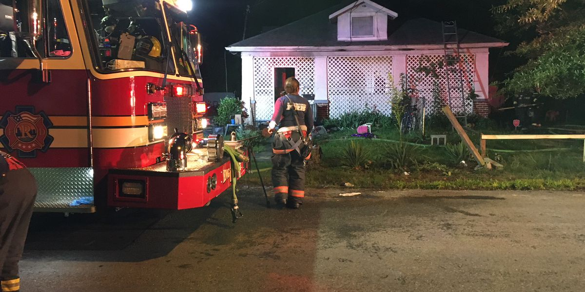 Family safe following porch fire in Richmond