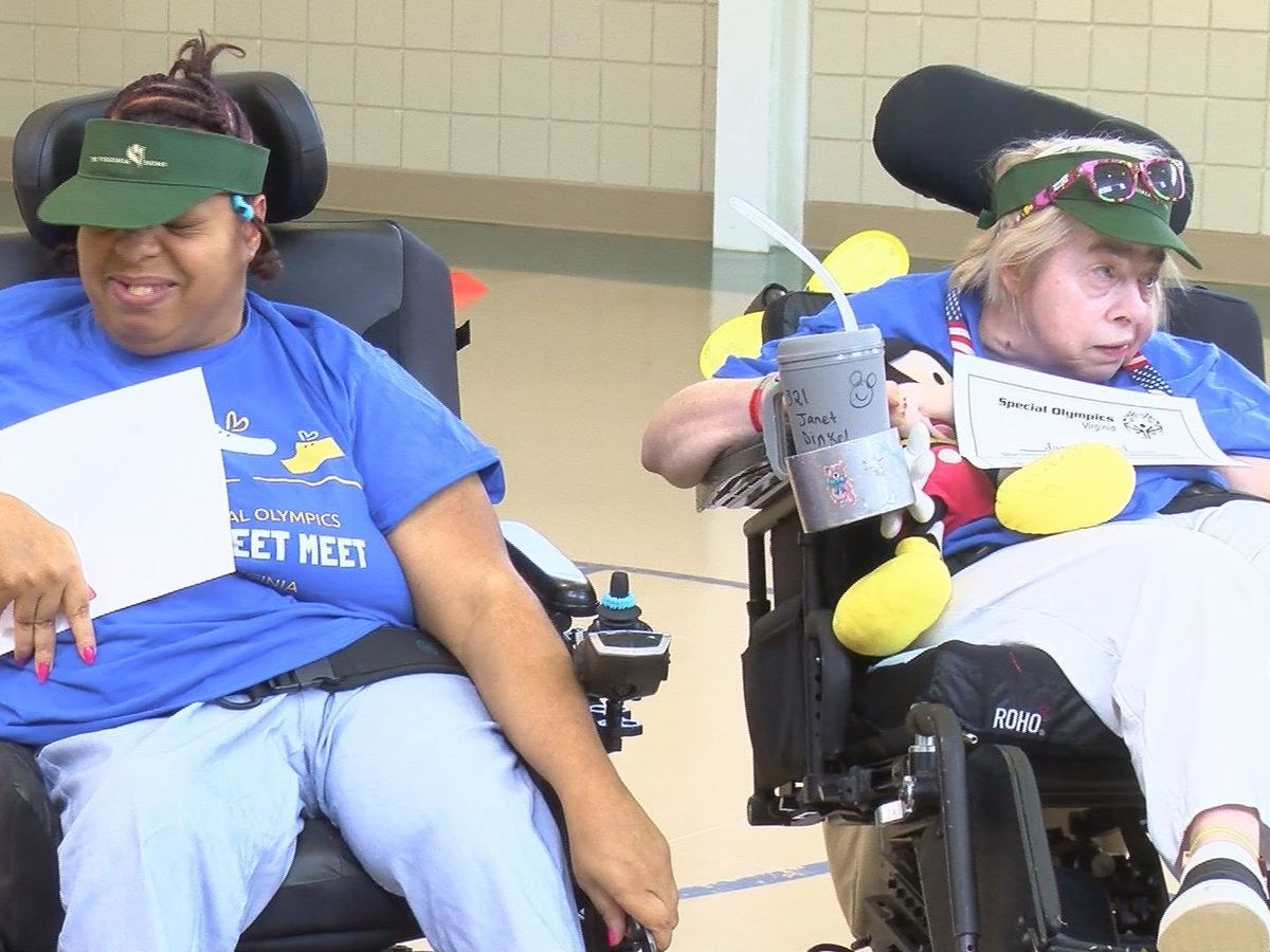Special Olympic athletes share special friendship