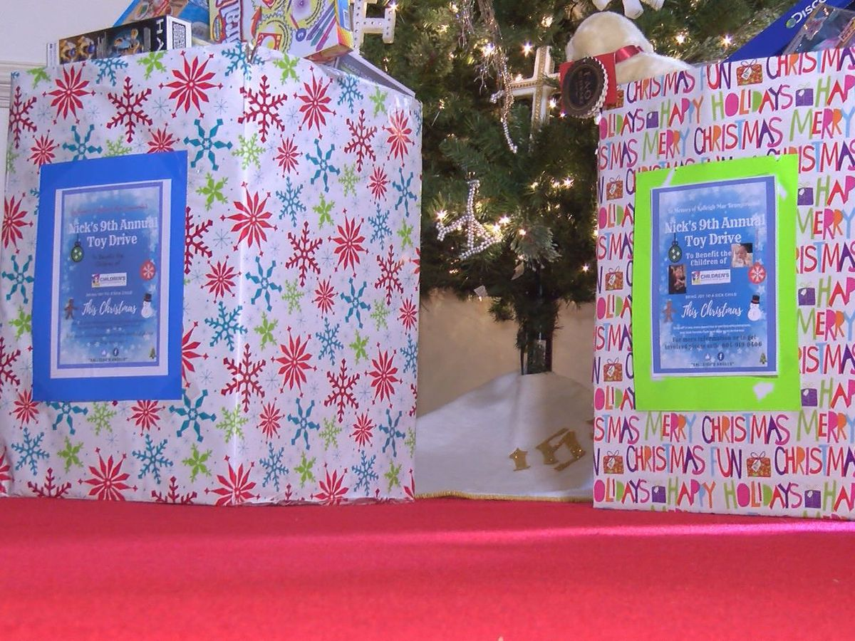 9th Annual Nick's Toy Drive set to bring dozens of sick children Christmas joy