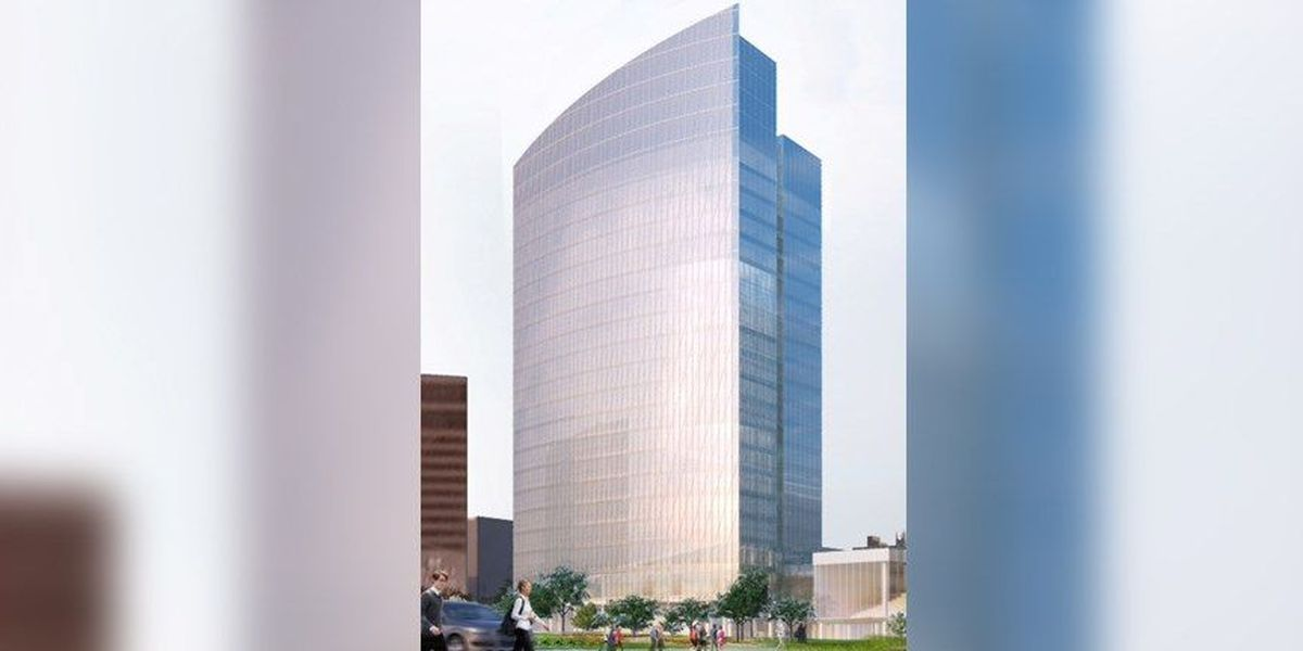 Construction begins on 20-story tower in downtown Richmond