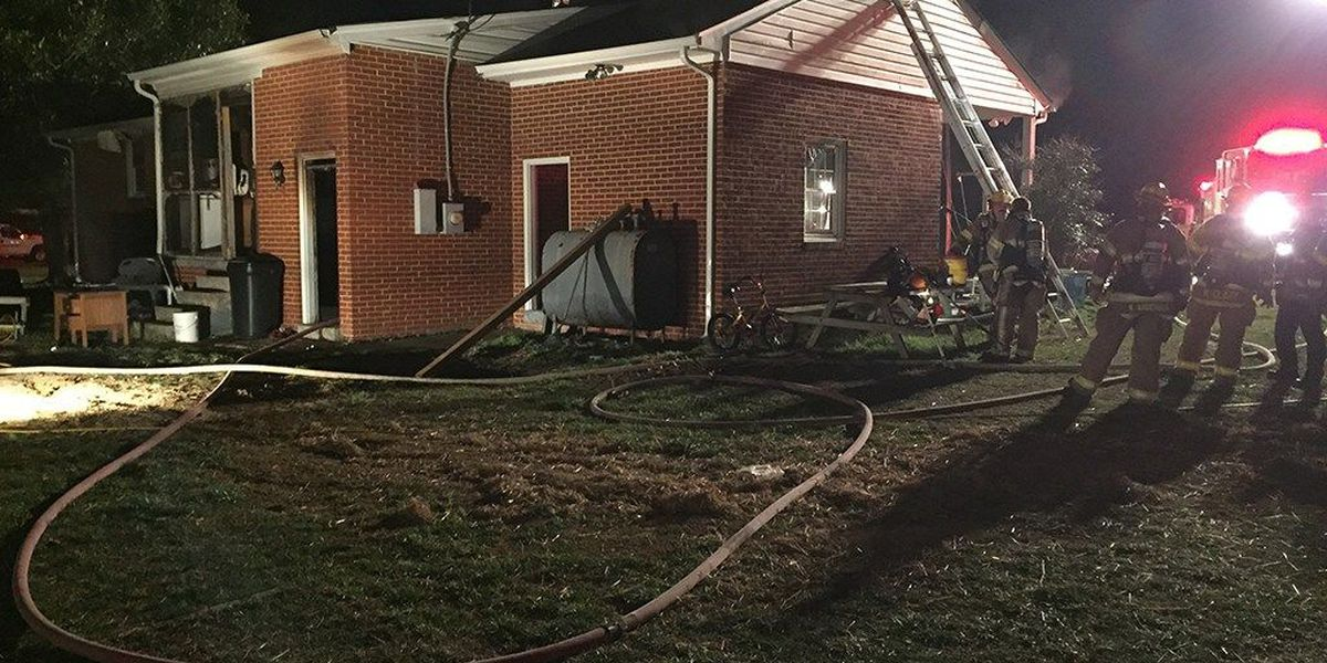 11 people, including 4 children, displaced in Henrico house fire