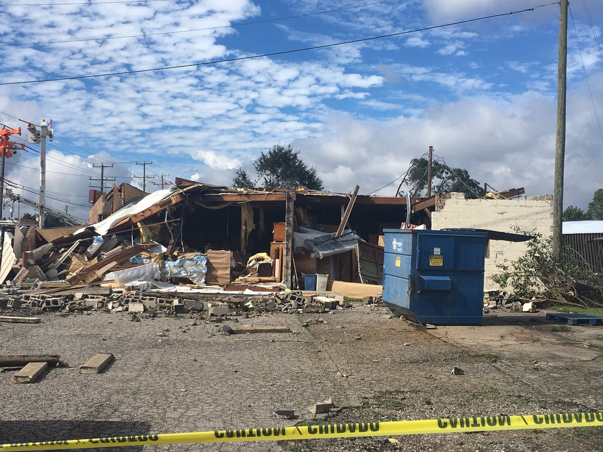 Businesses inspect damage, reflect on tornado