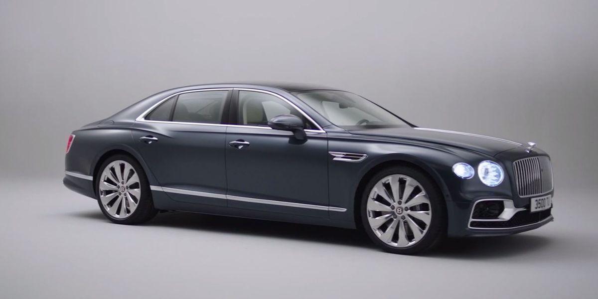 Bentley's new sedan goes 207 mph