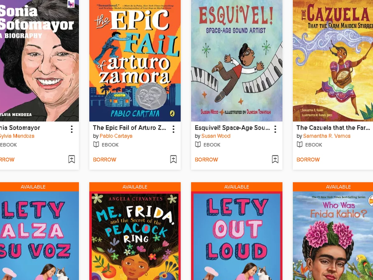 Henrico library celebrating Hispanic Heritage Month with online children's books
