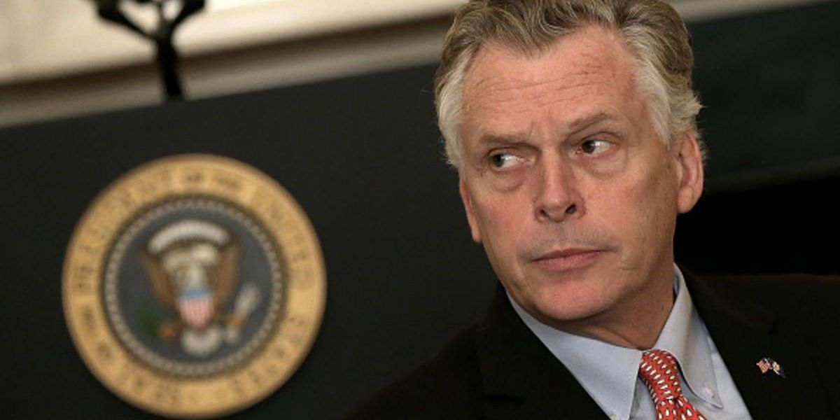 Virginia's McAuliffe makes gubernatorial bid official, releases education plan