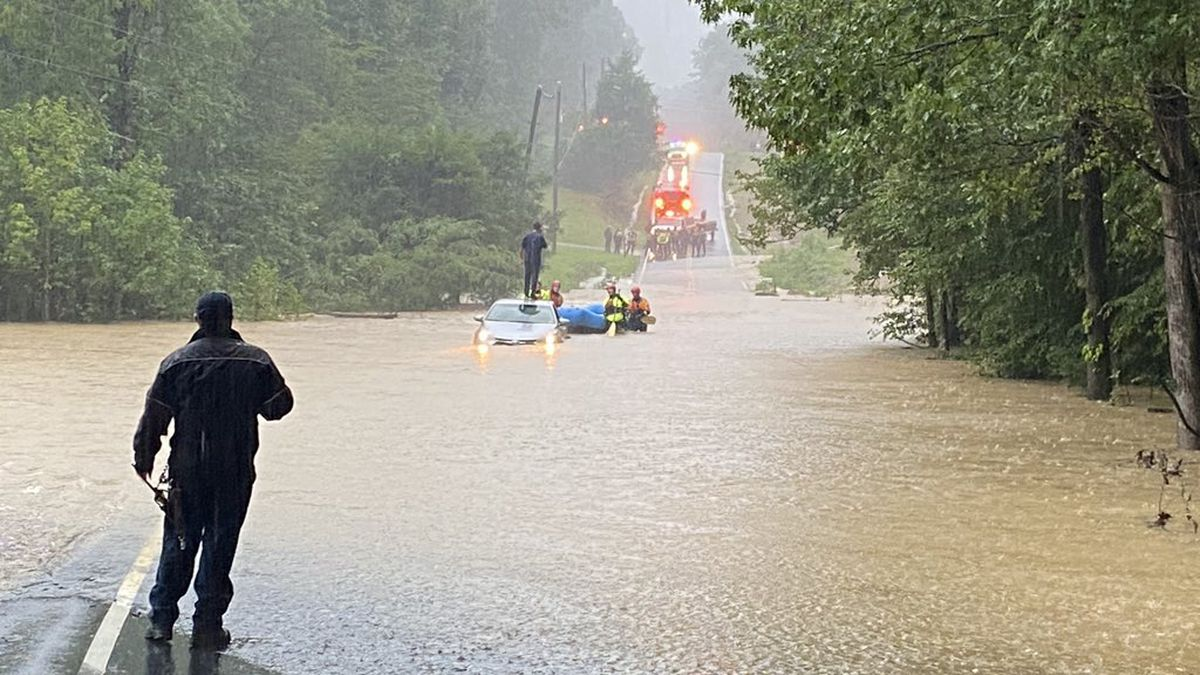 Saturday Morning Flash Flooding in Chesterfield County