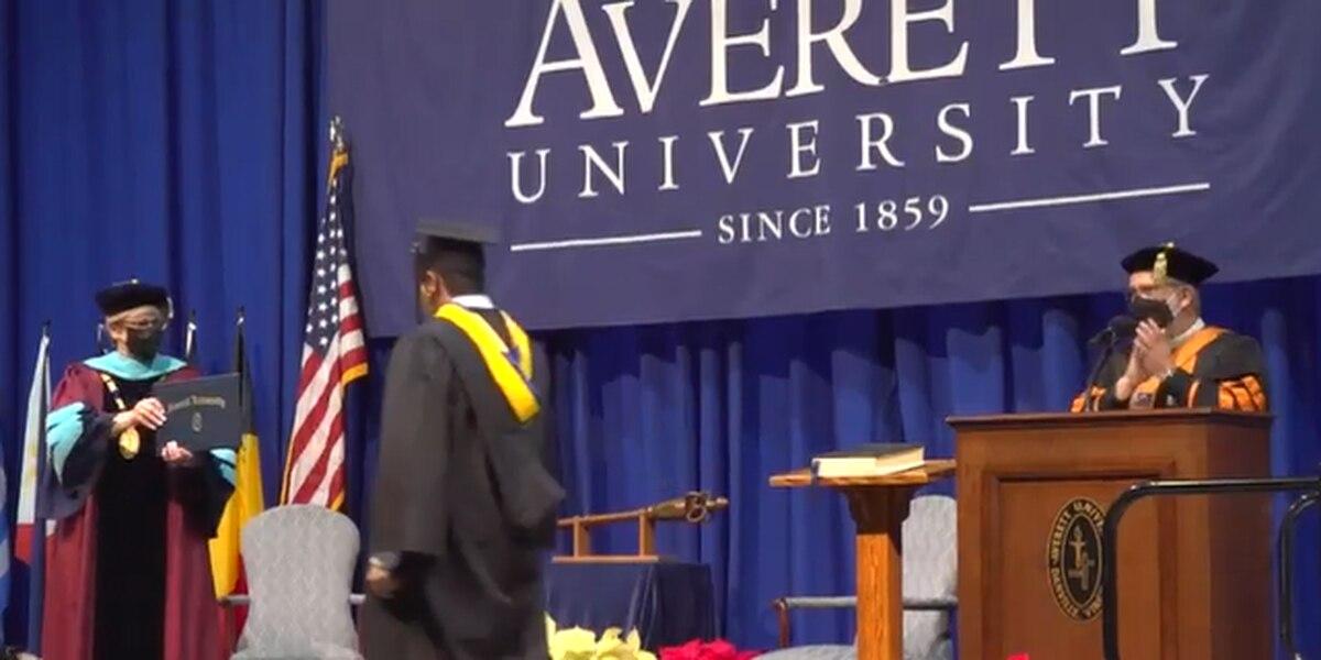Averett University holds reimagined graduation during pandemic