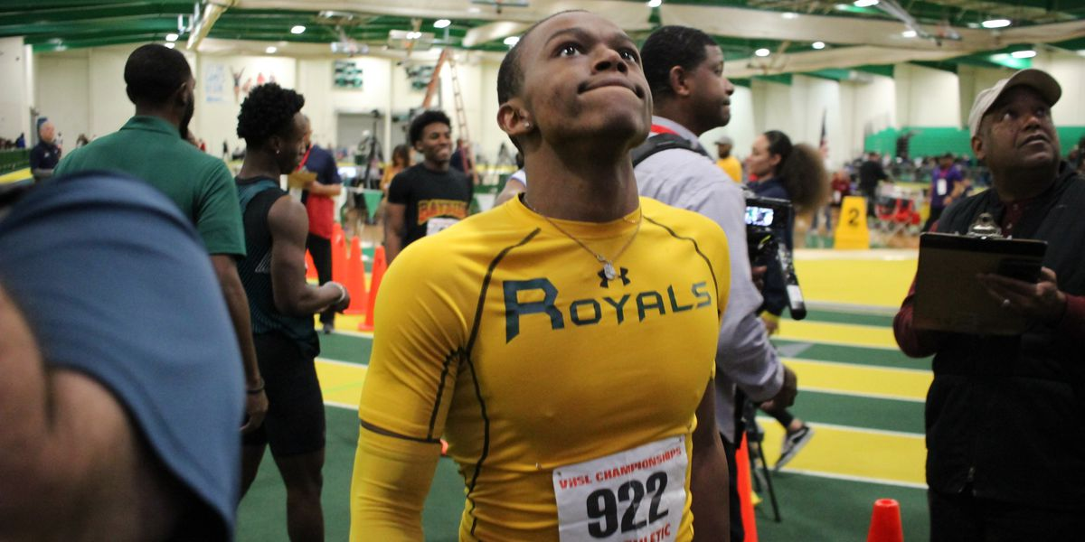 Prince George's Harding honored as Gatorade Virginia Track Athlete of the Year