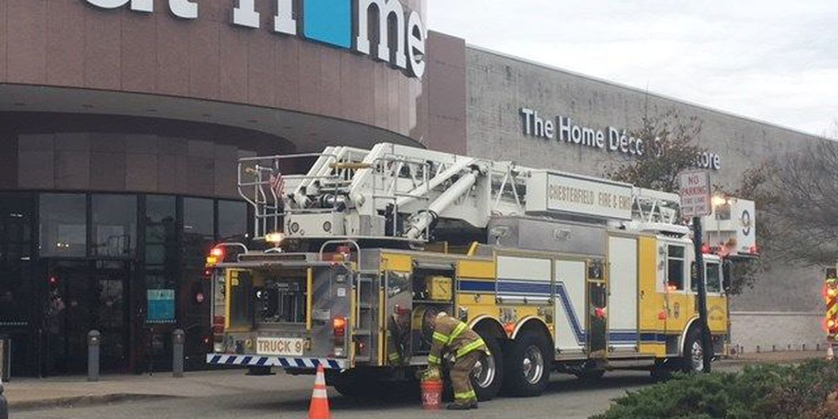 Store at Chesterfield mall closed for few hours after fire breaks out