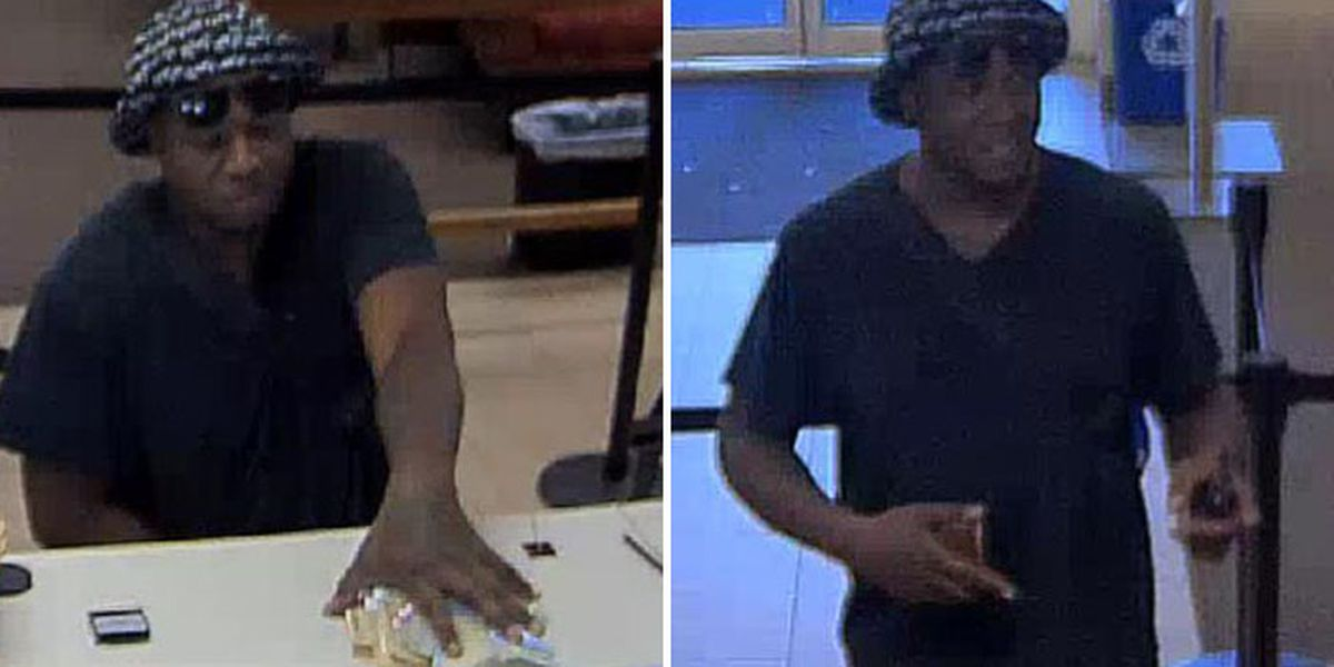 Chesterfield police looking for man who robbed Wells Fargo