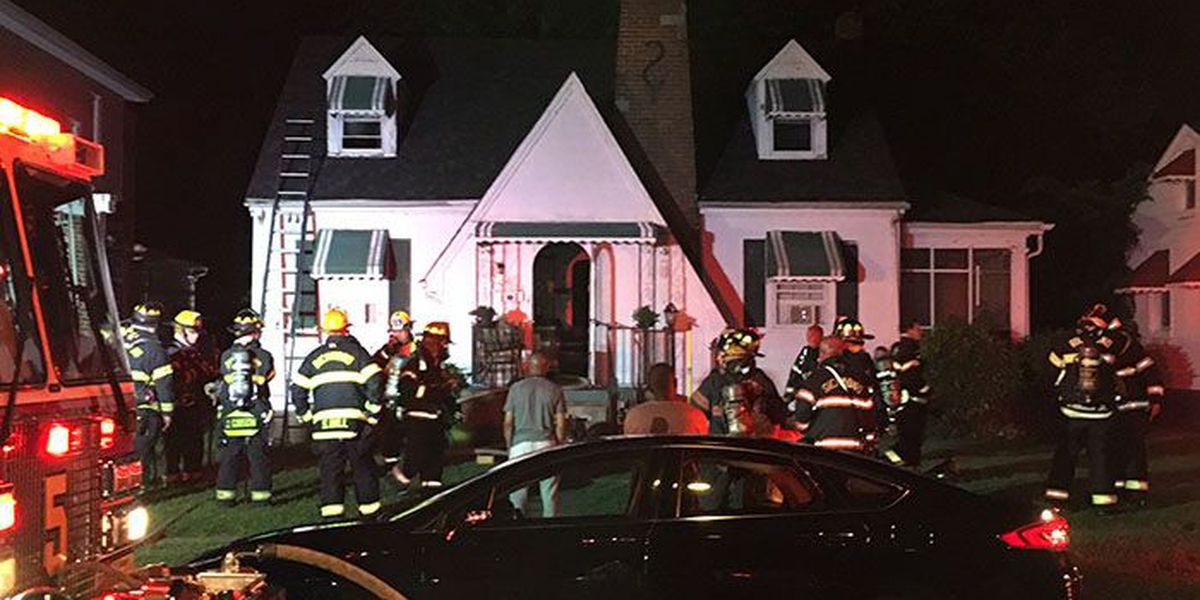 No injuries reported in overnight house fire