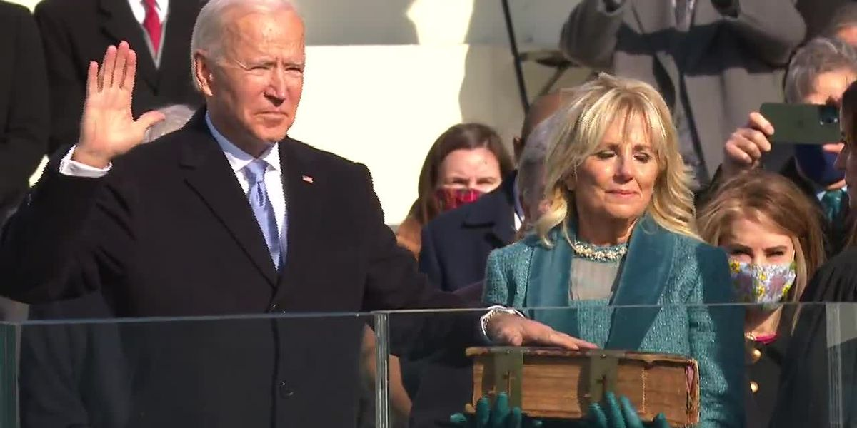 Inauguration Day for Joseph R. Biden