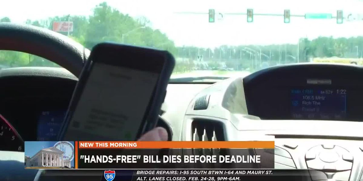 Hands-free driving bill fails in Virginia