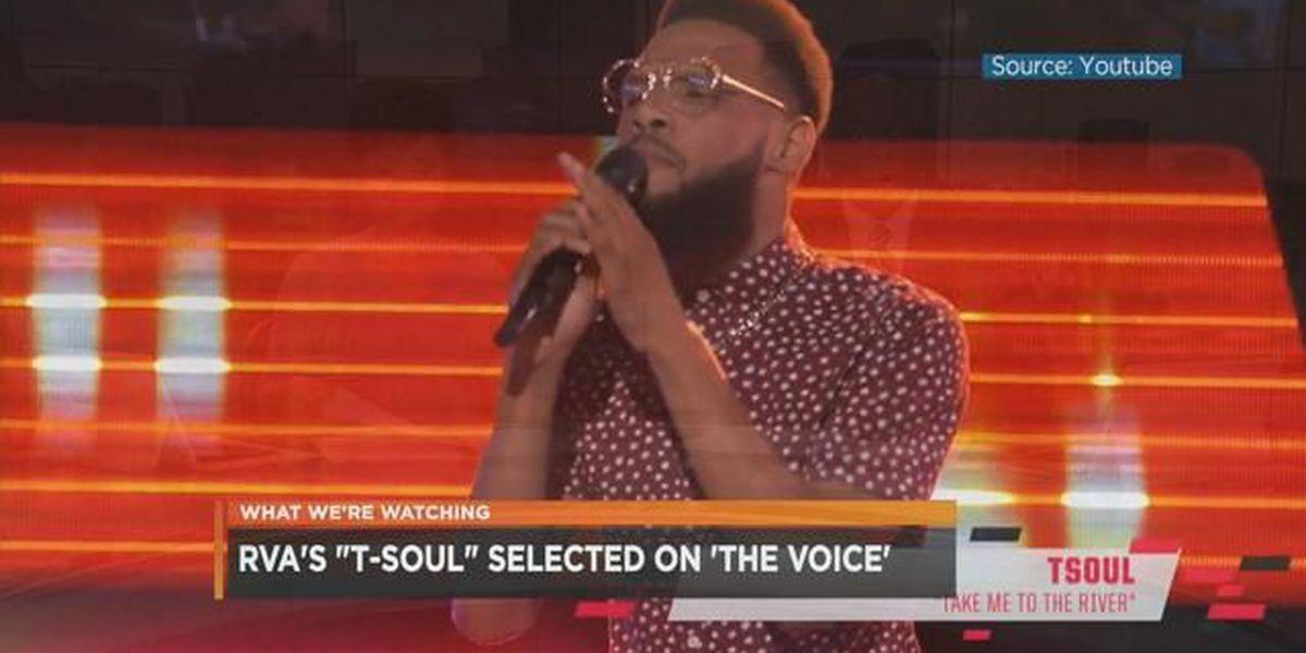 Richmond's TSoul talks about The Voice at NBC12 studios