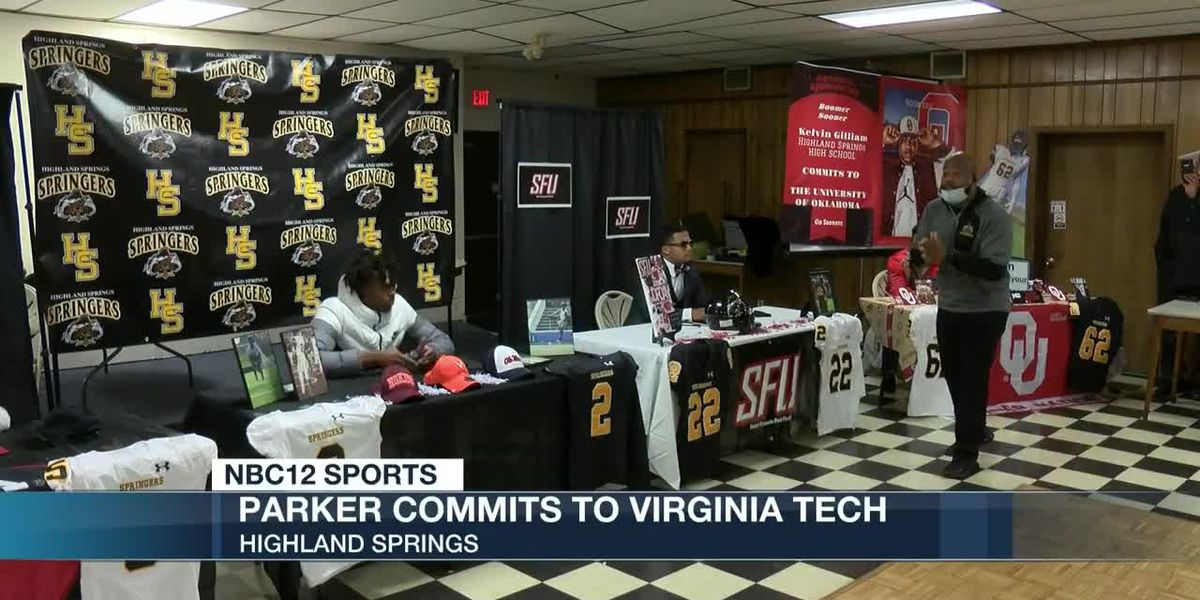 Highland Springs holds signing day ceremony, Parker picks Hokies