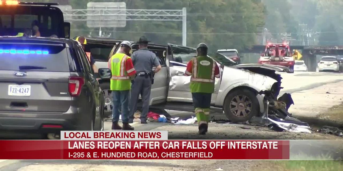 Police: Injuries reported after car appears to have crashed off I-295 onto Rt. 10